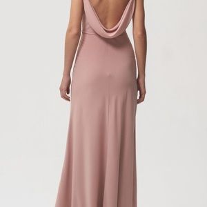 Jenny Yoo Capri (Fig) Bella Bridesmaids Dress